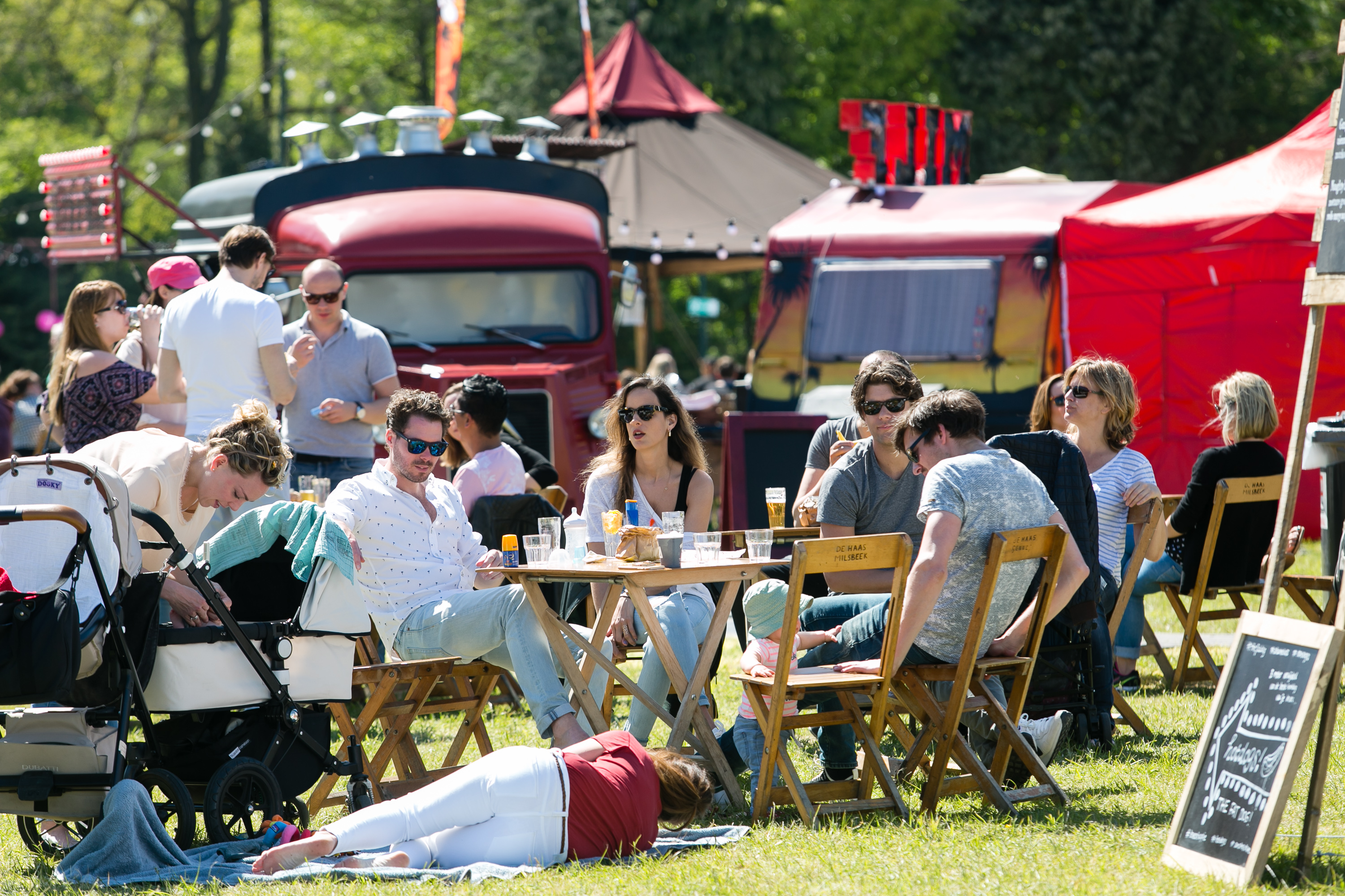 Food festival, production By Whyte, events, Amsterdam